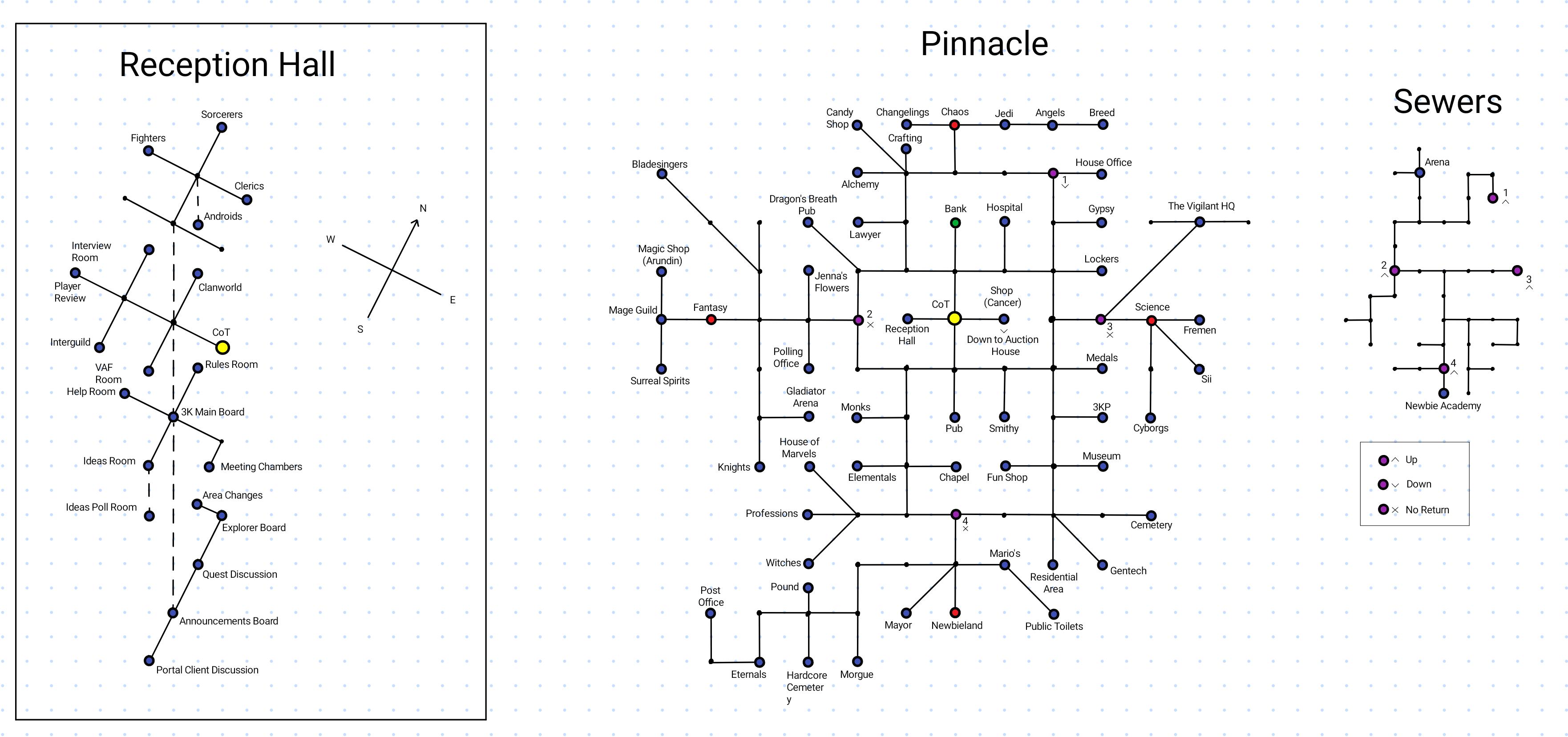 Map of Pinnacle