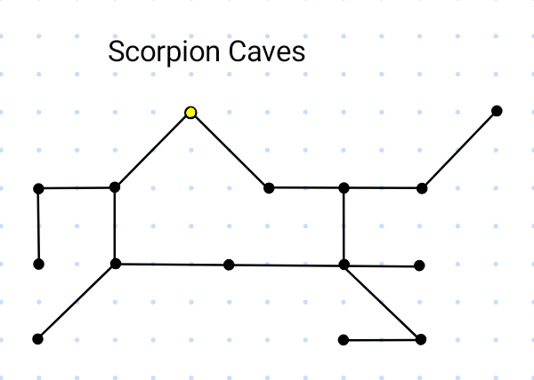 Map of Scorpion Caves